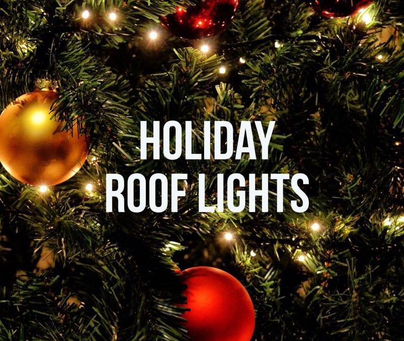 Holiday Roof Light Ideas