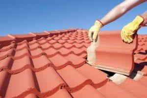 roofers repair roof