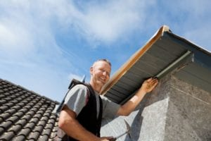 roofing contractor working good terms