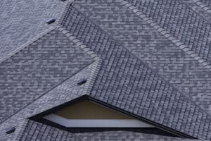 roof upgrade roofing company installed asphalt shingles