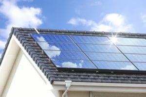 solar panels roof roofer installation