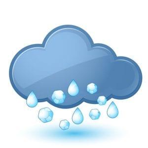 Rain Hail Clouds Season Roofing Company Help